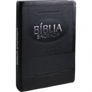 Bíblia Sagrada Letra Gigante / Preto - (ARA)