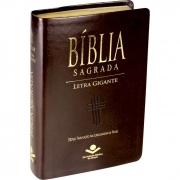 Bíblia Sagrada Letra Gigante / Marrom - (NTLH)