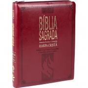 Bíblia Sagrada Letra Gigante, Edição com Letras Vermelhas com Harpa Cristã