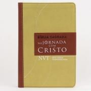 BÍBLIA SAGRADA - NA JORNADA COM CRISTO MARROM