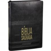 Bíblia Sagrada Slim com índice e zíper - (NAA)
