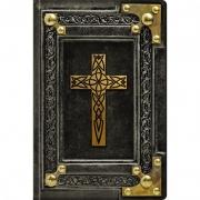 Biblia Sagrada Vintage Preta   NVI   Letra Normal   Capa Dura Soft-Touch
