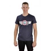 Camiseta Escudo / Azul escuro