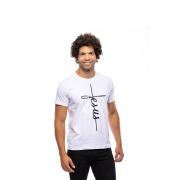 Camiseta Jesus Cruz / Branca