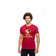 Camiseta Jesus é Incrível / Vermelha
