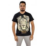 Camiseta Leão De Judá / Preta