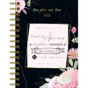 Meu Plano com Deus   Planner 2022   Exemplo de Cristo   Capa Preta