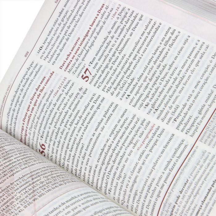 Bíblia da Mulher   RC   Média   Emborrachada   Rosa  - Universo Bíblico Rs