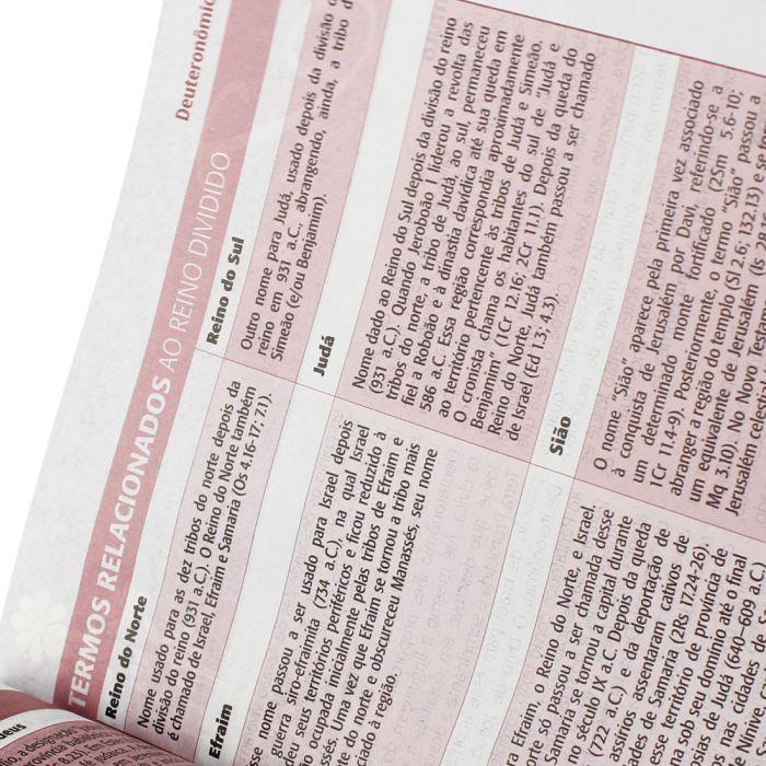 Bíblia Sagrada da Mulher | RA | Letra Normal | Capa Sintética | Rosa  - Universo Bíblico Rs