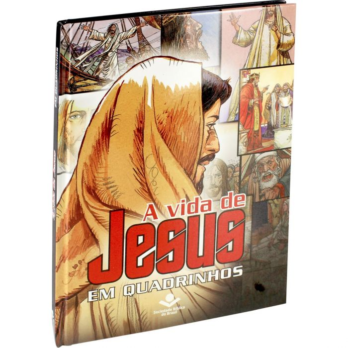 A Vida de Jesus em Quadrinhos  - Universo Bíblico Rs