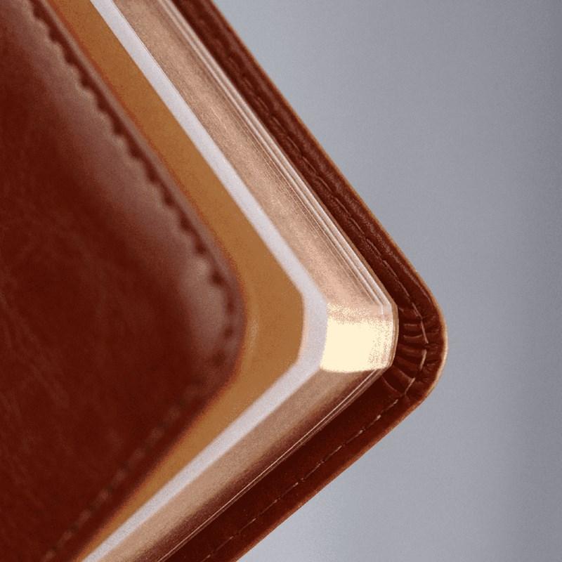 Agenda Executiva 2022   Pão Diário   Capa Couro Flexível  - Universo Bíblico Rs