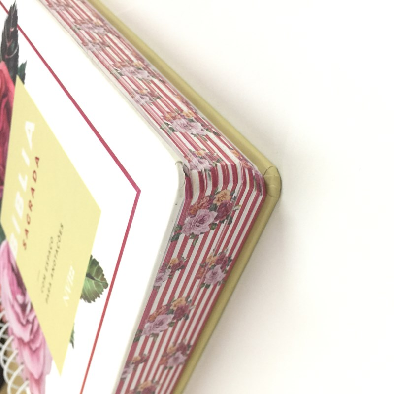 Bíblia Anote Espiral Floral   NVI   Letra Normal   Com Espaço Para Anotações  - Universo Bíblico Rs