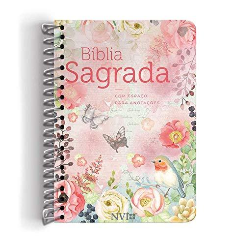 BÍBLIA ANOTE NVI GRANDE NOVO TESTATAMENTO - CAPA ESPIRAL CLÁSSICA VIRTUOSA  - Universo Bíblico Rs