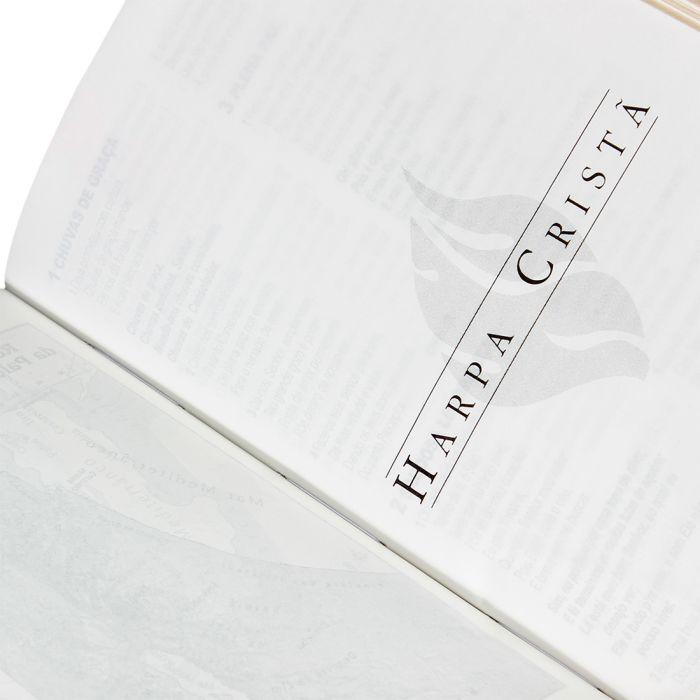 Bíblia Carteira com Harpa Cristã / Marrom - (ARC)  - Universo Bíblico Rs