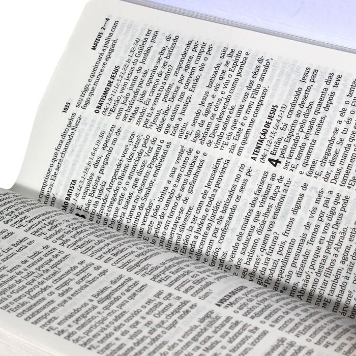 Bíblia Carteira com Harpa Cristã / Preto - (ARC)  - Universo Bíblico Rs