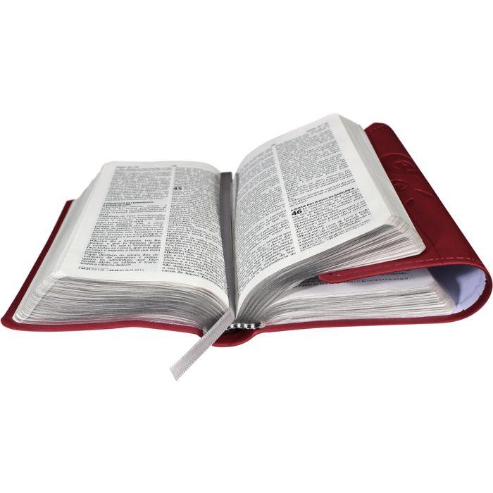 Bíblia Carteira com Harpa Cristã / Vermelho - (ARC)  - Universo Bíblico Rs