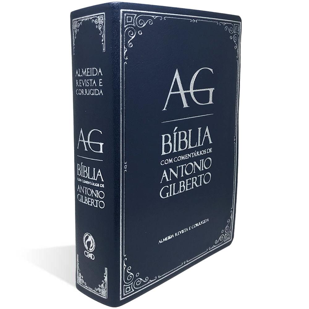 Bíblia com Comentários Antonio Gilberto  - Universo Bíblico Rs