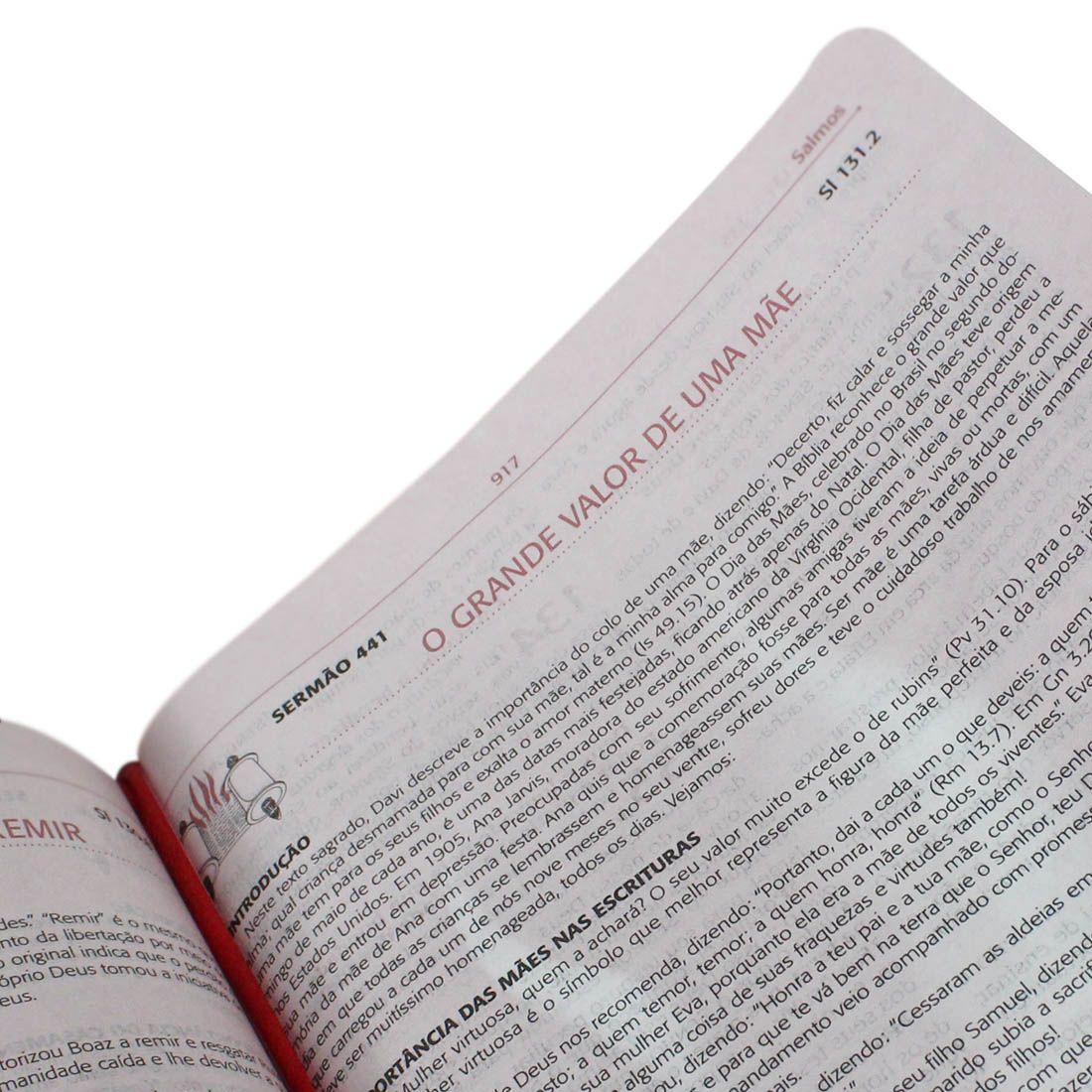 Bíblia da Pregadora Pentecostal com índice  - Universo Bíblico Rs
