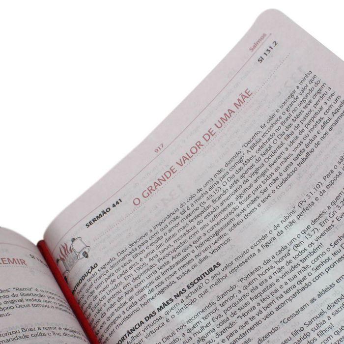 Bíblia da Pregadora Pentecostal Portátil Com Índice  - Universo Bíblico Rs