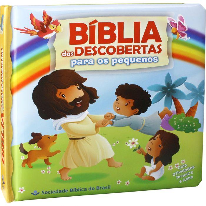 Bíblia das Descobertas para os Pequenos  - Universo Bíblico Rs