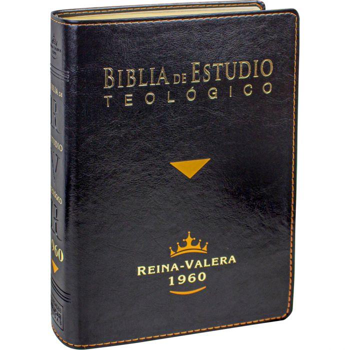 Biblia de Estudio Teológico Reina-Valera 1960  - Universo Bíblico Rs