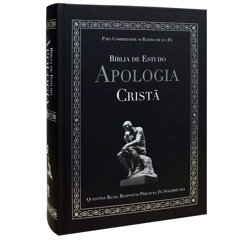 Bíblia de Estudo Apologia Cristã  - Universo Bíblico Rs