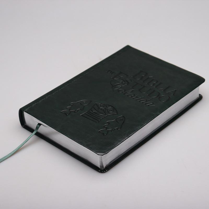Bíblia de Estudo Colorida - Verde  - Universo Bíblico Rs