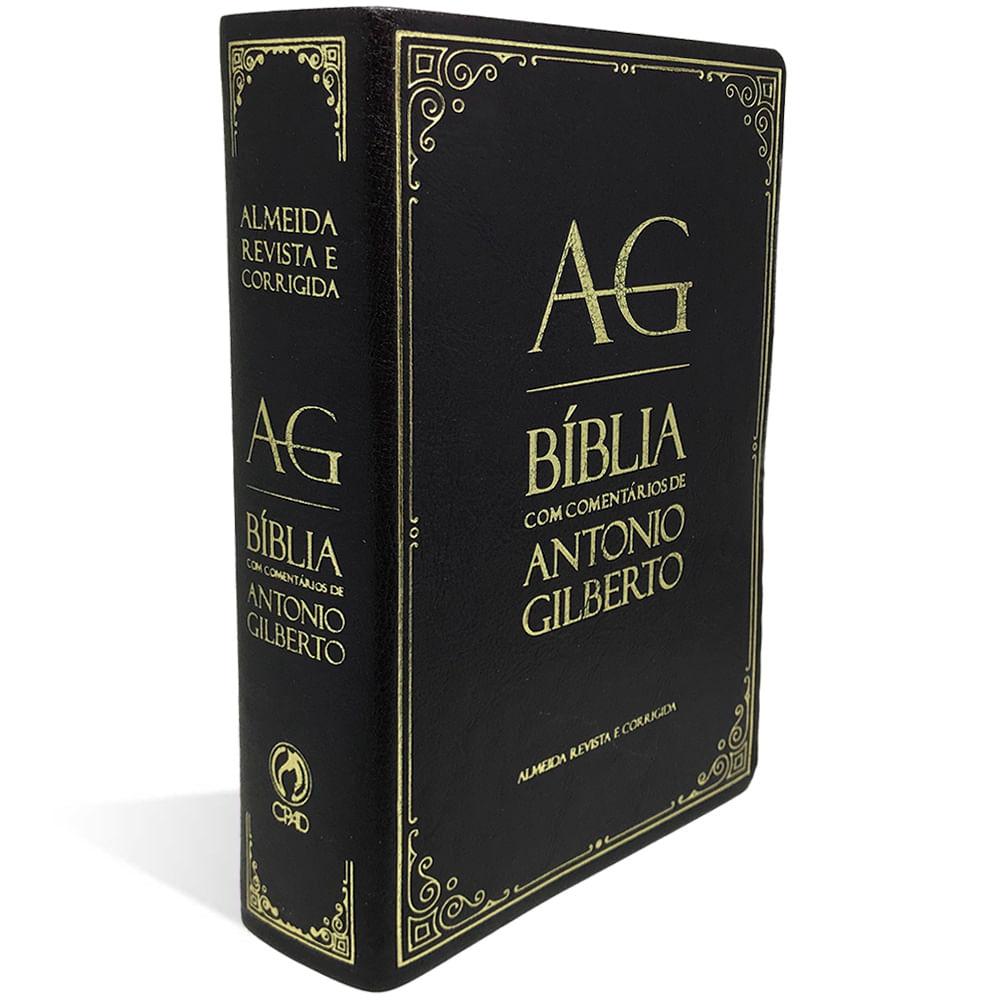 Bíblia de Estudo com Comentários de Antônio Gilberto  - Universo Bíblico Rs