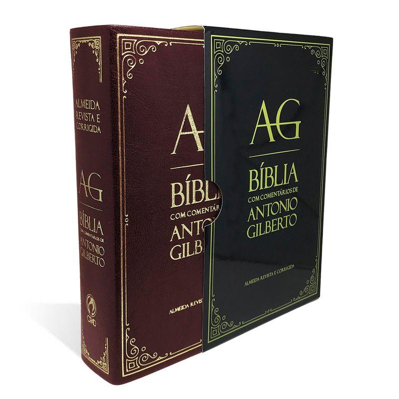 Bíblia de Estudo com Comentários de Antônio Gilberto Vinho  - Universo Bíblico Rs
