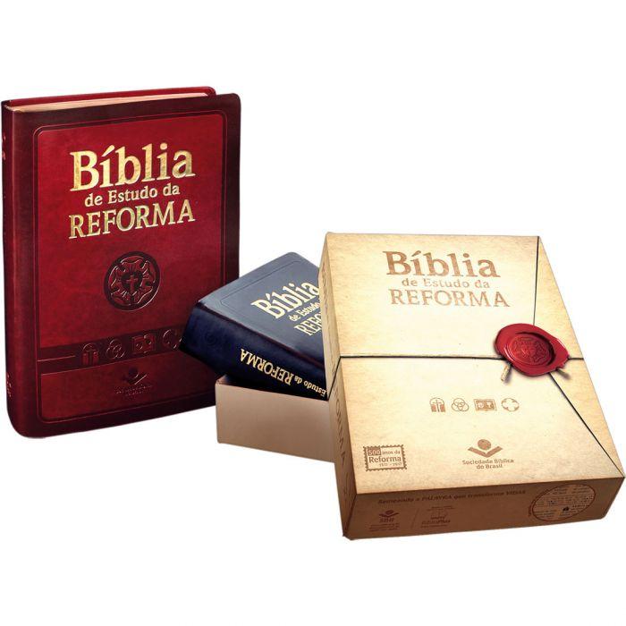 Bíblia de Estudo da Reforma (com índice)  - Universo Bíblico Rs