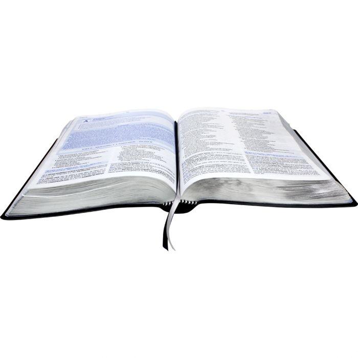 Bíblia De Estudo Do Discipulado Preta - Sbb  - Universo Bíblico Rs