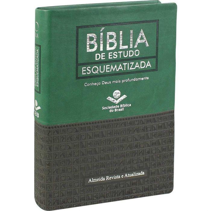 Bíblia de Estudo Esquematizada  - Universo Bíblico Rs