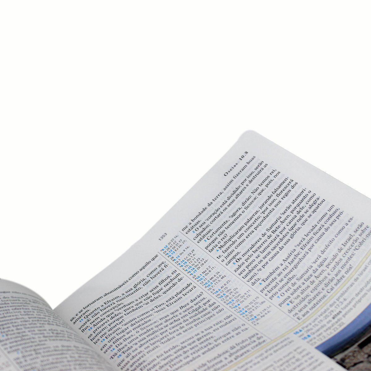 Bíblia de Estudo Holman - Couro sintético Vinho: Almeida Revista e Corrigida (ARC)  - Universo Bíblico Rs