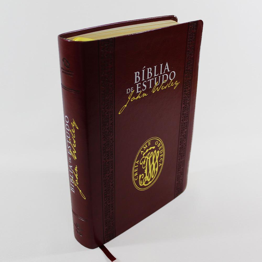 Bíblia de Estudo John Wesley - Sbb  - Universo Bíblico Rs