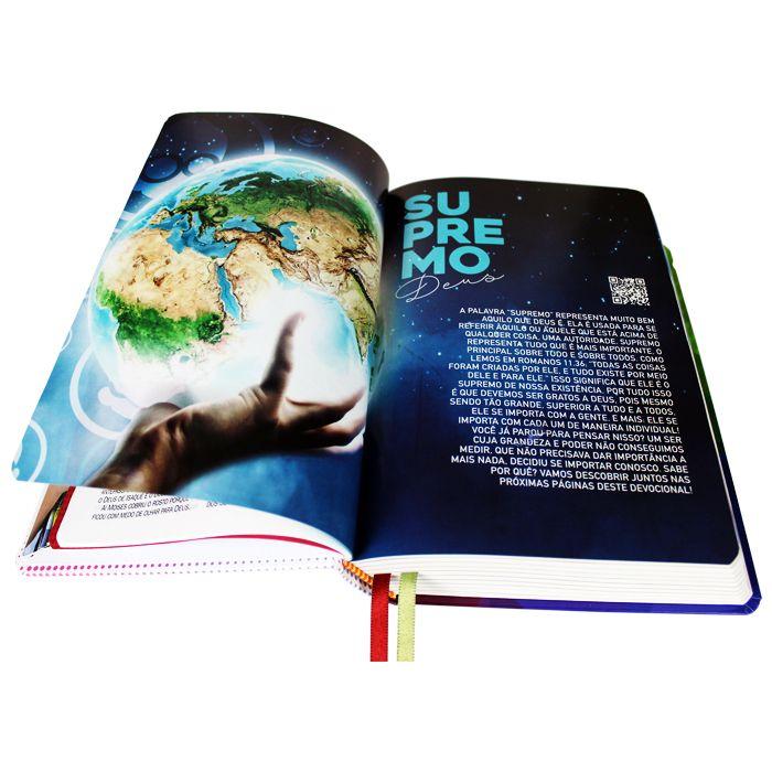 Bíblia de Estudo Kids - O Mundo de Otávio  - Universo Bíblico Rs