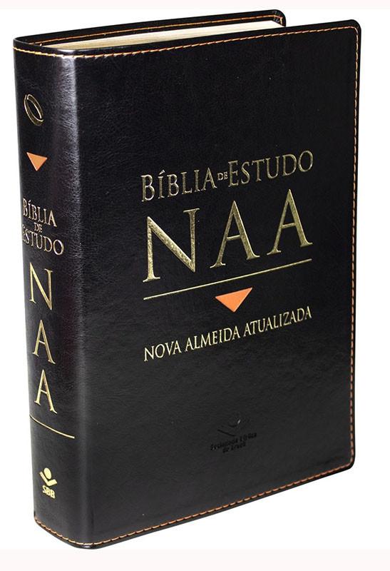 Bíblia de estudo NAA  - Universo Bíblico Rs