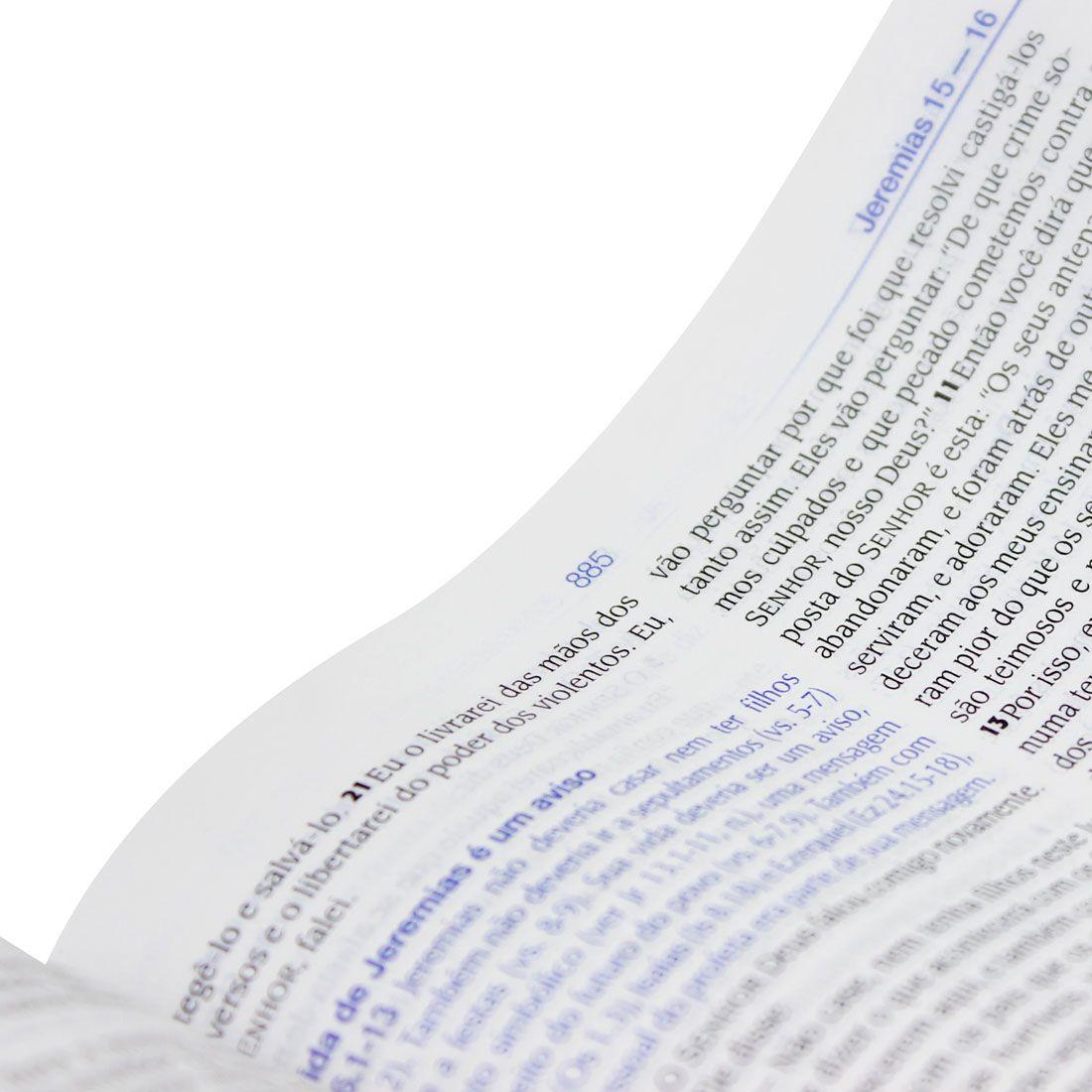 Bíblia de Estudo NTLH Média - Sbb  - Universo Bíblico Rs