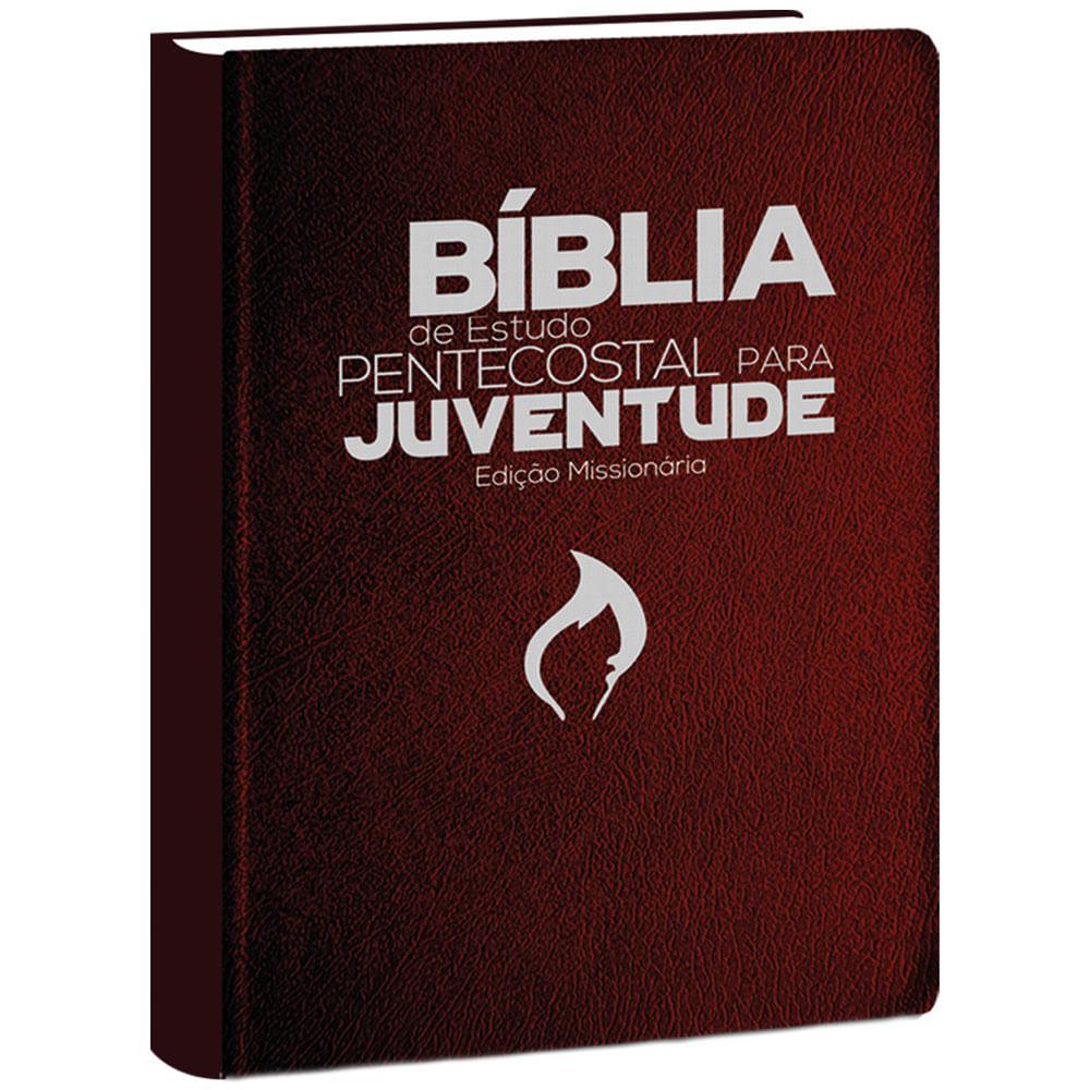 Bíblia de Estudo Pentecostal para Juventude Marrom - ED Missionária  - Universo Bíblico Rs
