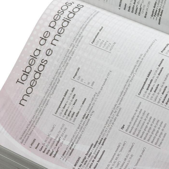 Bíblia De Estudo Plenitude Em Letra Vermelha -Nova Edição  - Universo Bíblico Rs