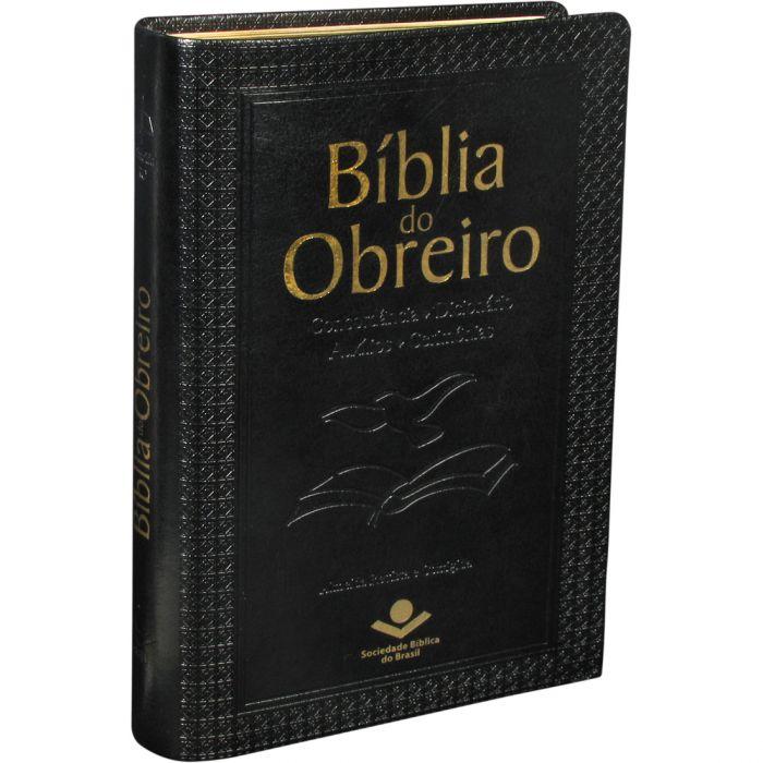Bíblia do Obreiro / Preta - (ARC)  - Universo Bíblico Rs
