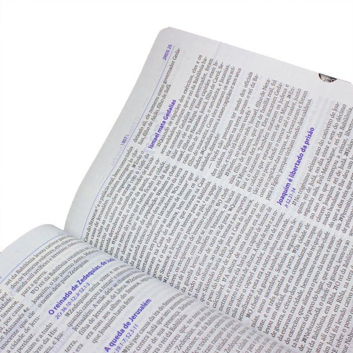 Bíblia do Pregador Pentecostal /  Preta - (NAA)  - Universo Bíblico Rs