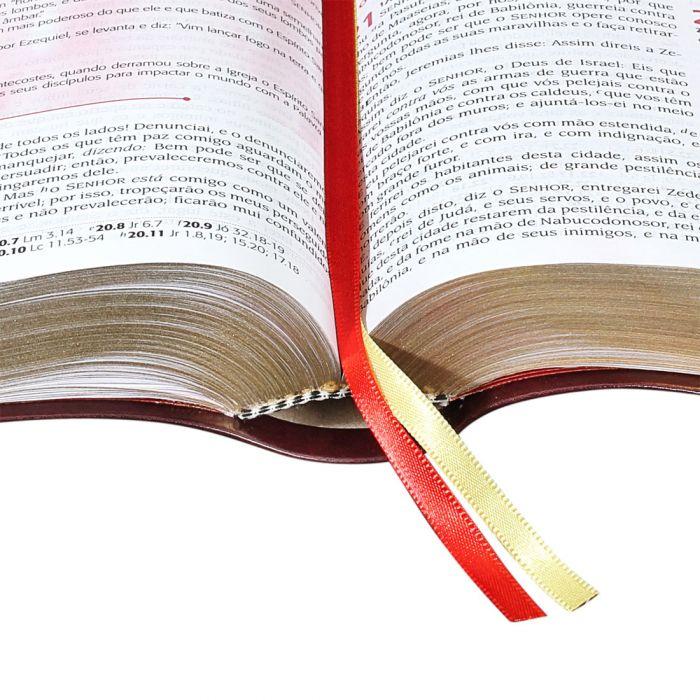 Bíblia Do Pregador Pentecostal / Vinho - (ARC)  - Universo Bíblico Rs