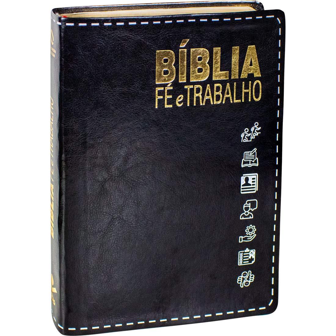 Bíblia Fé e Trabalho: Nova Almeida Atualizada (NAA)  - Universo Bíblico Rs