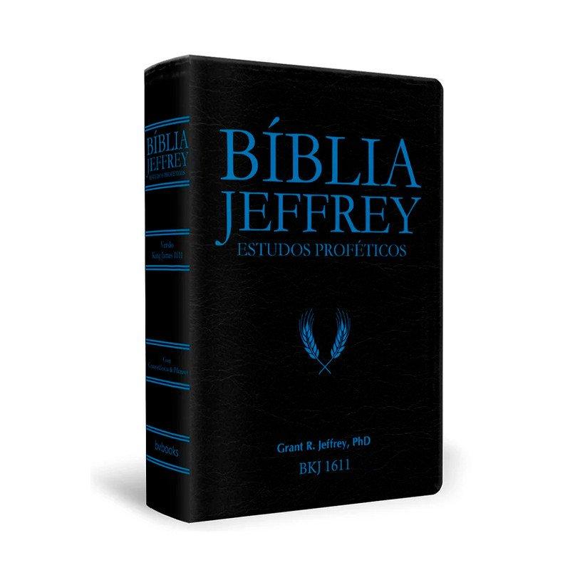 Biblia Jeffrey de como fazer uma loja virtual Estudos Profeticos  Azul  - Universo Bíblico Rs