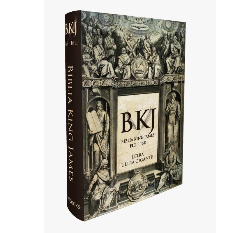 Bíblia King James Fiel   Ultra Gigante   Capa Dura  - Universo Bíblico Rs