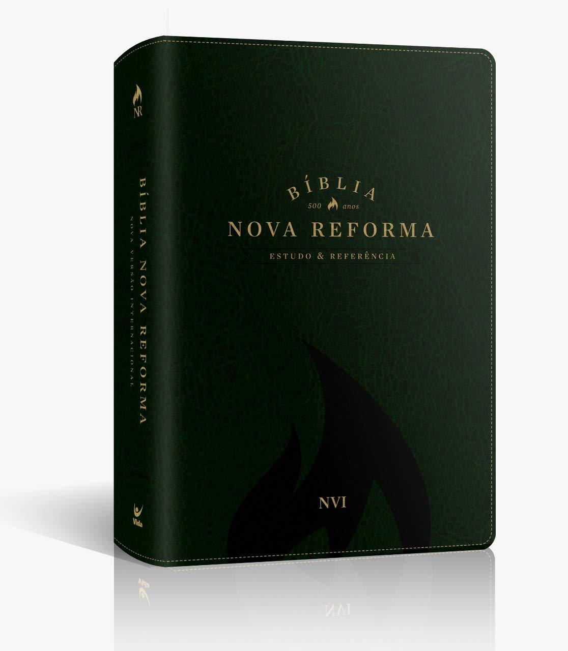Bíblia Nova Reforma Nvi Capa Pu Verde
