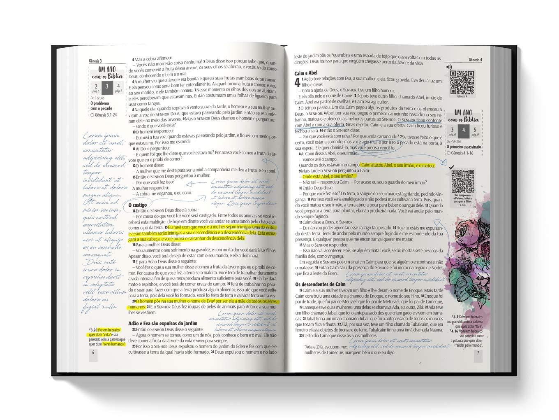 Bíblia NTLH YouVersion The Lion Colorida: Nova Tradução na Linguagem de Hoje  - Universo Bíblico Rs