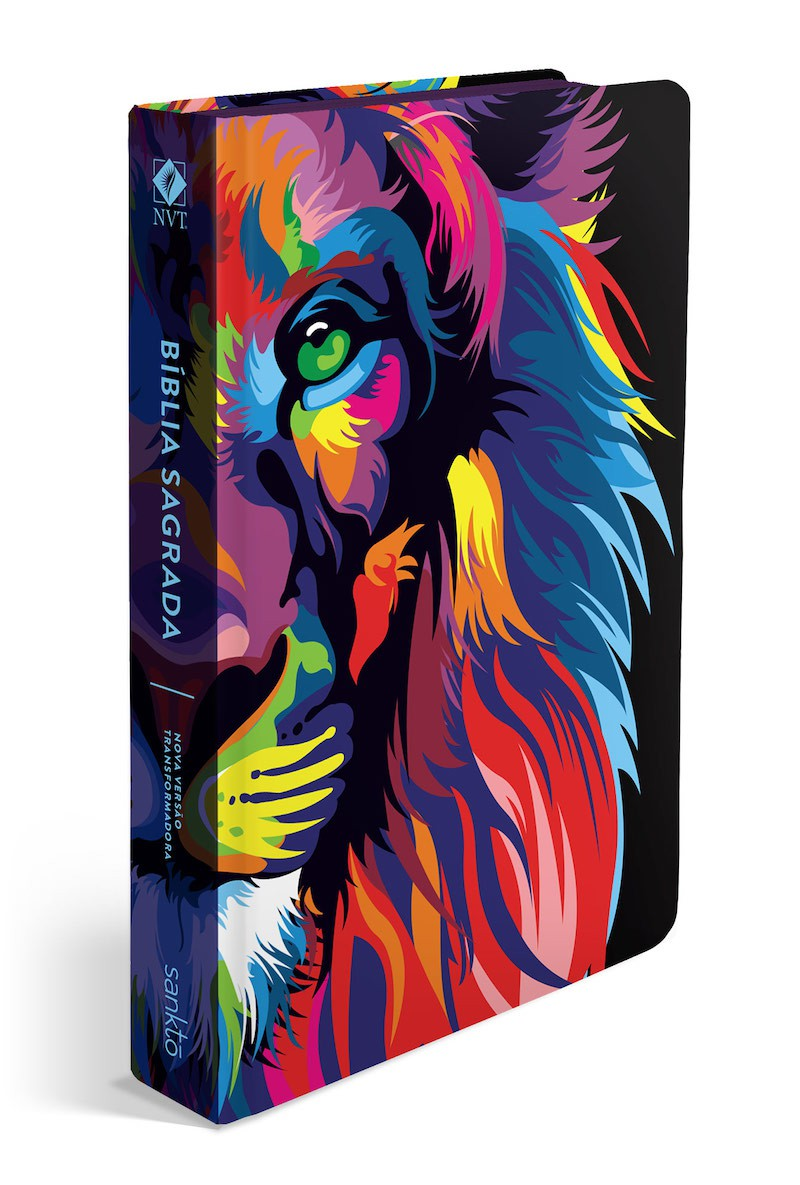 Bíblia NVT 960 Lion Colors  - Universo Bíblico Rs