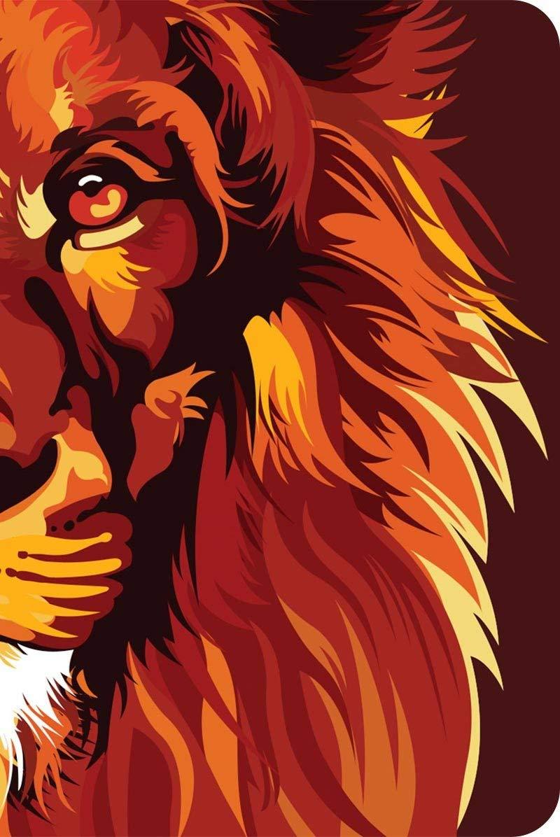 Bíblia NVT 960 Lion Colors Fire - Letra Normal: Nova Versão Transformadora  - Universo Bíblico Rs