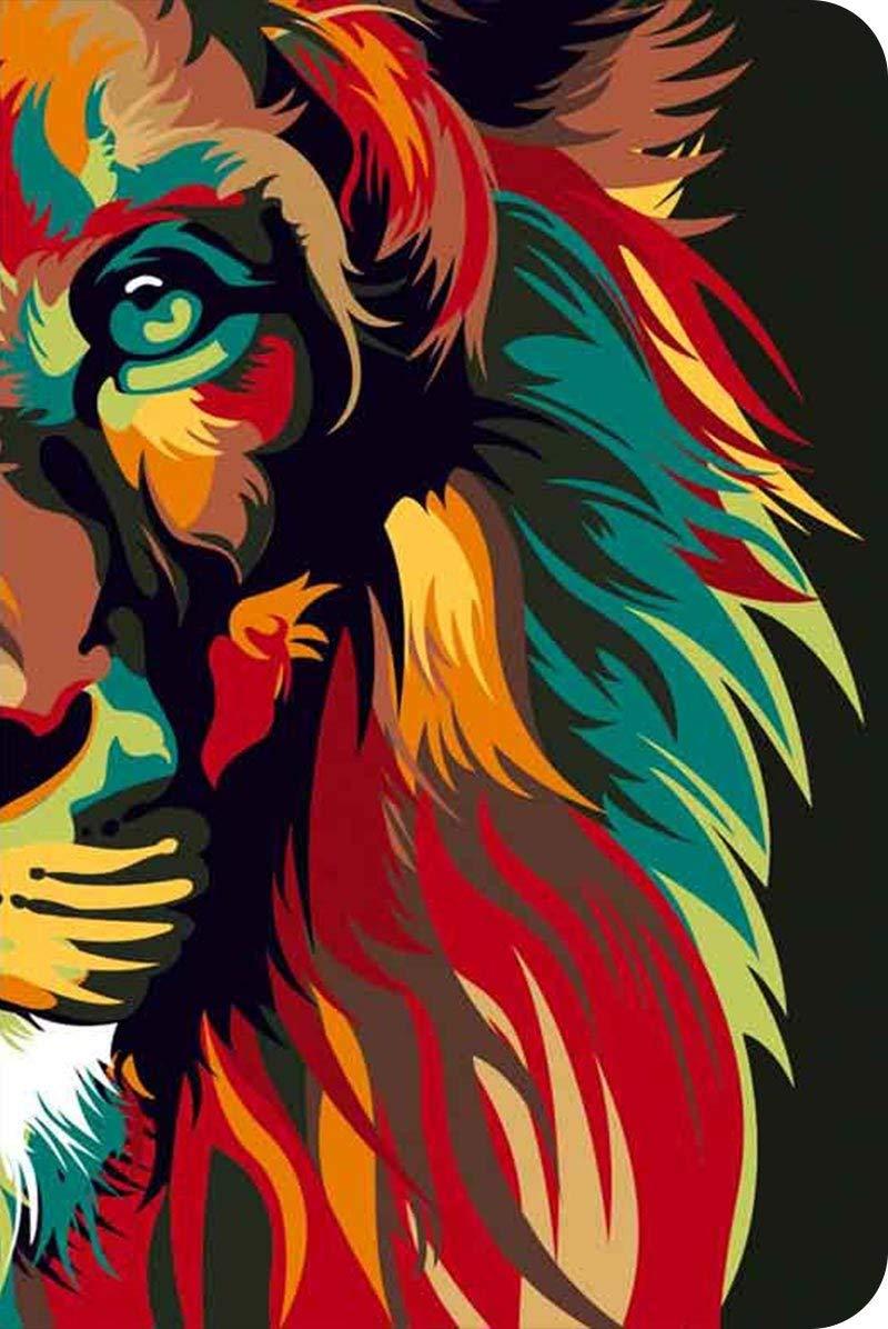 Bíblia NVT 960 Lion Colors Nature - Letra Normal: Nova Versão Transformadora  - Universo Bíblico Rs